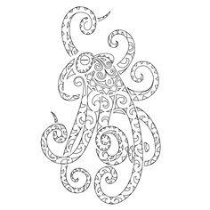 Octopus Tentacles Drawing | TATTOO TRIBES - Dai forma ai tuoi sogni, Tatuaggi con significato ...