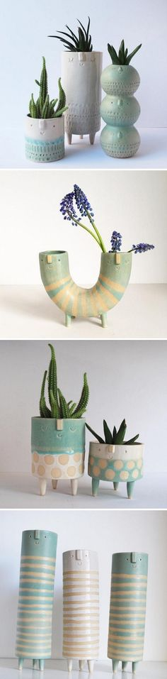 Ceramics by Atelier Stella / extruder ideas