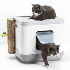 Casa Multifunción CatConcept para gatos - Cama y arenero