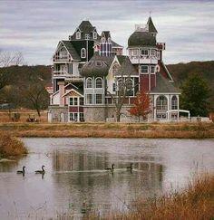 dream homes, victorian house