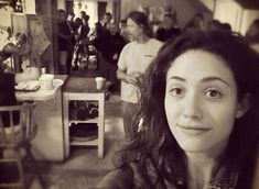 Emmy Rossum, Criminal Minds, Behind The Scenes, Tv Shows, It Cast, Couple Photos, Film, Celebrities, People