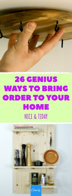 26 Clever Storage & Organization Hacks | #cleverly #storage #organizing #tips #tricks #tipsandtricks #storagetips #storagehacks #smallhome #tinyhome #smallhouse #homehacks #kitchenhacks Storage Hacks, Storage Organization, Organizing Tips, Home Hacks, Kitchen Hacks, Clever, Tattoos, House, Women