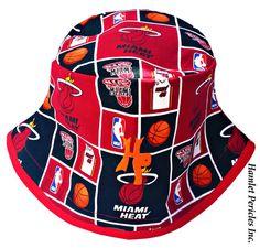 Miami Heat Unisex Red-base Bucket Hat by Hamlet Pericles, Inc.    #HamletPericlesFashion #HamletPericlesInc #Hamlet #Pericles #BucketHat #Etsy #EtsySeller #Patchwork #Red #Embroidery #Miami #HeatNation #MIA #RedAndBlack #FashionDesign #FashionDesigner #Milliner #Millinery #Headwear #MiamiFl #MiamiFlorida #Personalized #Customized #BucketHats #Hats #Hat #Caps #Fashion