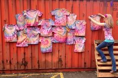 Tie Dyed Tshirt Party Favors | Rit Fabric Dye Clothing Dyeing