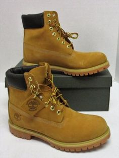 8bb003db736a Timberland 10061 Men s Classic 6-inch Premium Waterproof Leather Boots - Size  10