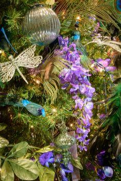 Tiffany glass tree