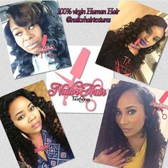 Exclusive hair collection featuring unprocessed 100% virgin hair. All textures closures frontals grades and textures. @nailorhairtextures  SHOPBLACKBIZ.COM   Click the link in bio to search local black owned business.