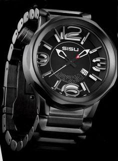 "SISU Guardian GQ4-50-BSS """"Eclipse"""" Swiss Limited Edition 50th, Watches, Clock, Image, Products, Clocks, Technology, Wrist Watches, Watch"