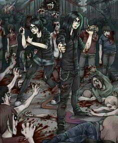 zombies apocalypse art