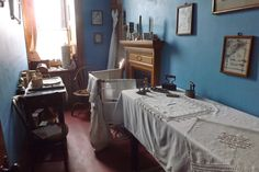 Lanhydrock . The nursemaid's ironing room