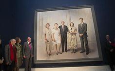 Don Juan Carlos, al ver el cuadro de Antonio López: «Me veo fenómeno, pero ahora estoy mejor, más descansado»  http://w.abc.es/a9ck38