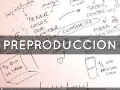 Claves de creación audiovisual PRE :: PRO :: POST PRODUCCIÓN. Anímate y crea tus propias producciones!