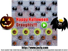 Happy Halloween everybody!  Enjoy this little draughts variant and have a very nice horrible day :) http://www.jocly.com/jocly/brazilian-draughts-hlwn/play