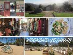 Ojai! A look at the oft-forgotten jewel of zen trips that's been showing up more and more in Instagram feeds.