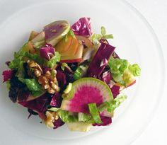 Waldorf Salad with Meyer Lemon Vinaigrette by jfhaugen