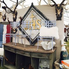 We're all set up at the Marburger Farm Antique Show! Shop our collection at booth Cb9 through October 1st.