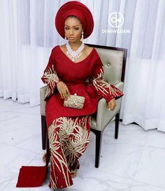 African Inspired Fashion, Latest African Fashion Dresses, African Dresses For Women, African Print Fashion, Nigerian Fashion, African Prints, African Women, Nigerian Wedding Dresses Traditional, Traditional Wedding Attire