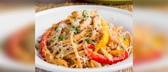 Our Healthy Cajun Chicken Linguine is a must try recipe!