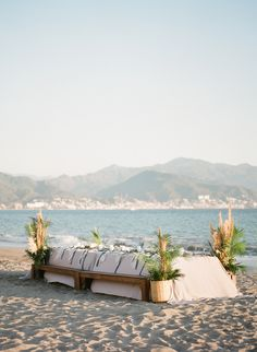 Say 'I do' on a jaw-dropping beach, garden, jungle chapel, or elegant outdoor terrace with ocean views. Plan your celebration at the most beautiful beach wedding venues in Mexico. Wedding Venues Beach, Most Beautiful Beaches, Paper Goods, Sun Lounger, Linens, Florals, Backdrops, Mexico, Luxury