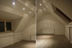 Dakkapel zolder Attic Spaces, Attic Rooms, Attic Inspiration, Garage Attic, Dormer Windows, Loft Room, Home Upgrades, Master Bedroom, Bathtub