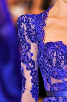 Zuhair Murad, model, runway, couture, haute couture, fashion, high fashion, fashion week, Paris Fashion Week, ball gown, chiffon, tulle, lace, velvet, floral, sequins, princess, fairy tale, corset, sheer, ruffles, details, embroidery, couturier, Fall 2013,