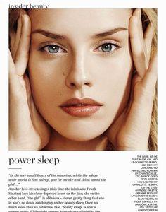 'Insider Beauty' Julia Frauche by Nico for Porter No.2 Summer 2014 1