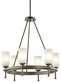 Kichler Lighting KCH-42947SWZ Ladero Modern / Contemporary Chandelier - contemporary - chandeliers - Arcadian Home & Lighting