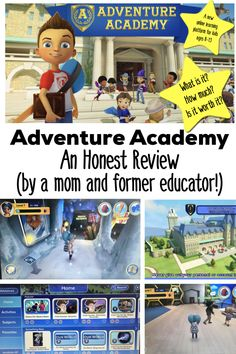 Adventure Academy is a brand new online learning platform from Age of Learning (the experts who brought you ABCmouse and ReadingIQ ). Online Learning Sites, Learning Tools, Kids Learning, Online Homeschooling, Educational Videos, Educational Activities, Learning Activities, Abc Mouse, Teaching Social Studies