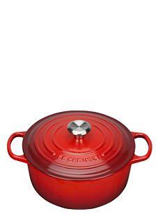 LE CREUSET Cast iron round casserole dish 26cm