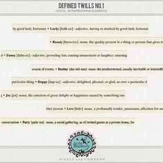 Defined Twills No. 1 Pixels and Company