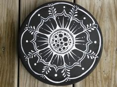 Mandala, Garden Stepping stone, Gifts under 50. $35.00, via Etsy.