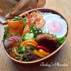 hiro's dish photo 高校生男子弁当 http://snapdish.co #SnapDish #サンドイッチ #お弁当