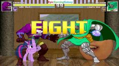 Parasite And Twilight Sparkle VS Dr. Doom And The Annoying Orange In A MUGEN Match / Battle / Fight This video showcases Gameplay of Twilight Sparkle From The My Little Pony Friendship Is Magic Series And Parasite The Supervillian VS Dr. Doom The Supervillain And The Annoying Orange In A MUGEN Match / Battle / Fight