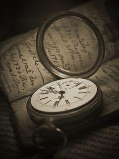 Clock Hourglass Time: #Pocket #Watch.