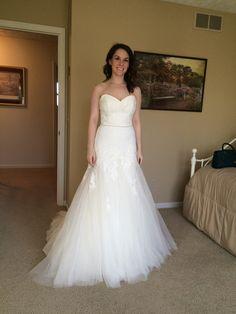 Allure Bridals 2558 Size 16 Used Wedding Dress