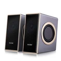 [Father's Day Present Deal] Stereo Computer Speaker, Mixcder MSH169 Multimedia Speakers System, Surround Sound Deep Bass for PC , Apple MAC , Dell , HP , Lenovo , Fierce , Cyberpower , VIBOX , Zoostorm , LG , Acer Desktop & Laptop Computers - http://www.c