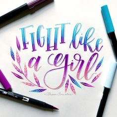 Pin by mercedes dz. on bullet journal hand lettering, hand l Brush Lettering Quotes, Watercolor Lettering, Doodle Lettering, Creative Lettering, Calligraphy Doodles, How To Write Calligraphy, Calligraphy Quotes, Calligraphy Letters, Modern Calligraphy