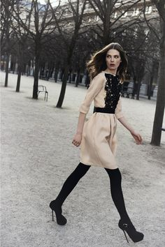 nice contrast by Dior