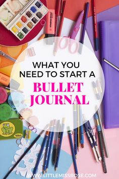 What do stationery supplies do you need to start a bullet journal?  You can find out right here.  I'll detail what you need and what you don't need.