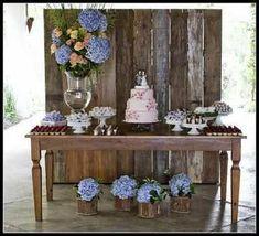 Decoração para casamento rústico!!#vemver - 29