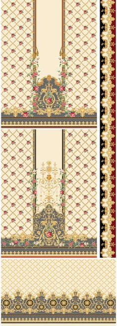 Digital Textile Designes on Behance