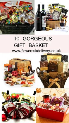 16 Best Gift Baskets Delivery To UK Images