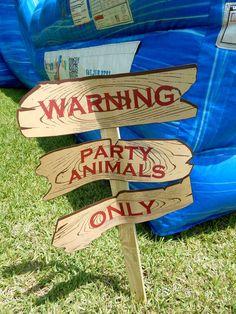 Safari Adventure Party Birthday Party Ideas   Photo 1 of 39