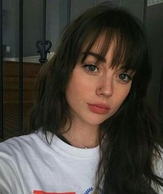 42 Stylish Bangs Hairstyles to Beautiful Face Shape Short hairstyles with bangs . - 42 Stylish Bangs Hairstyles to Beautiful Face Shape Short hairstyles with bangs are an excellent me - Thin Bangs, Short Hair With Bangs, Brown Hair Bangs, Straight Bangs, Wispy Bangs Round Face, Shoulder Length Hair Bangs, Long Front Bangs, Wispy Fringe Bangs, Brown Hair With Fringe