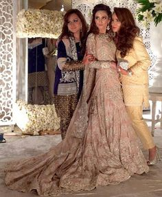 Pakistani bride wearing Ammara Khan.