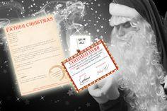 Personalised Bad Santa Letter