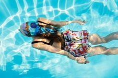 Versace La Vacanza 2021 swimwear ad campaign.