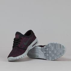 Nike SB Stefan Janoski Max Shoes Villain Red / Black - Black - Wolf Grey