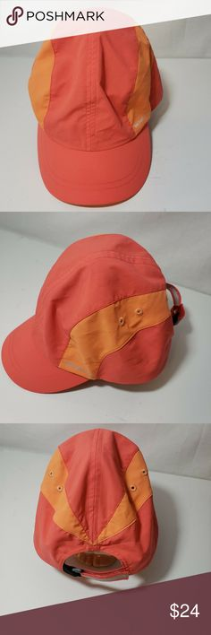 863d75bb8fe24 Merrell Womens Baseball Cap Hat Coral Merrell Womens Baseball Cap Hat  Orange Coral Summer One Size
