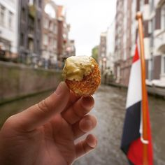The best way to enjoy bitterballen in Amsterdam is of course on a boat. Amsterdam Travel, Boat, Restaurant, Dishes, Dinghy, Boats, Restaurants, Tablewares, Tableware